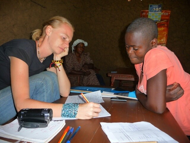 Janika gathering information