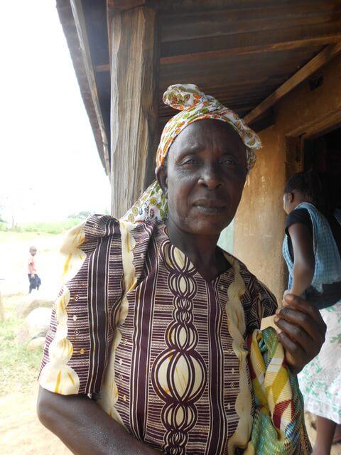 Christin Okwisa. Chairlady of Bumini Women