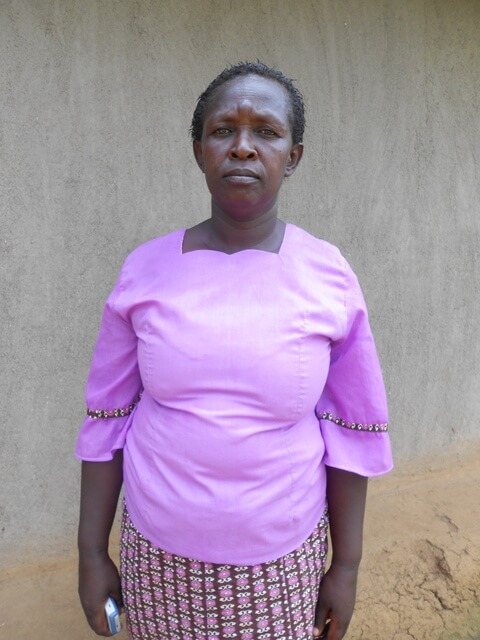 Jenipher Mutinoli. Chairlady of Nandiri Support
