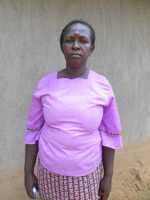 Jenipher Mutinoli. Chairlady of Nandiri Support