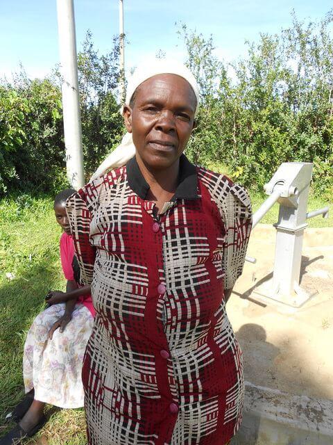 Justin Angona. Chairlady of Bulechia Youth