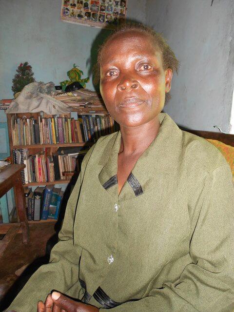 Leonida Waswa. Chairlady of Eskura Women