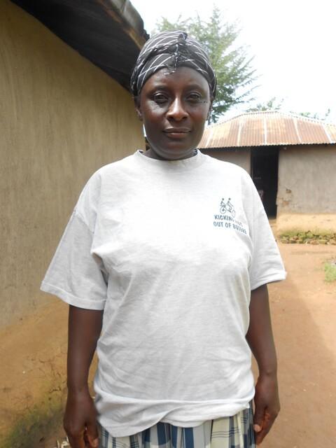 Margret Ajundo. Chairlady of Msalaba Women