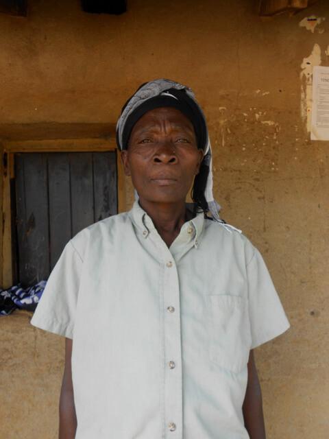 Margret Atsulu. Chairlady of Emusirasire Women
