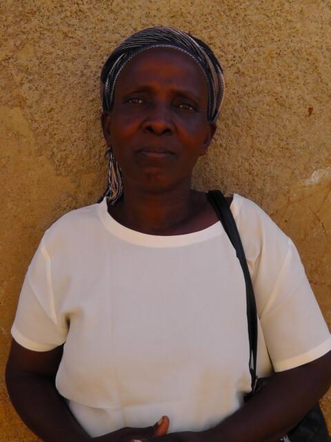 Norah Otieno. Chairlady of Khaunga Women