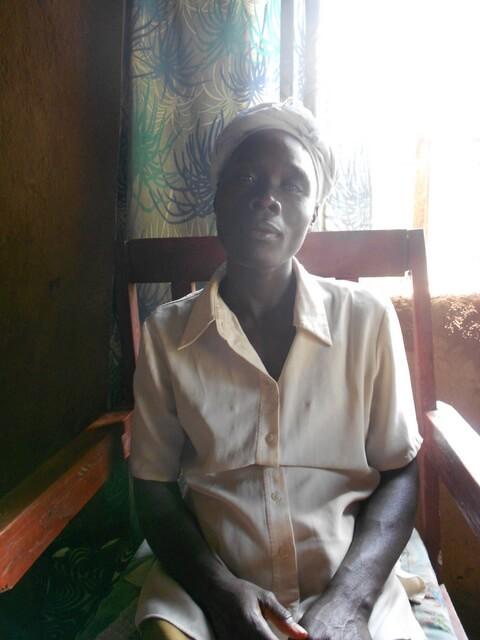 Zainab Opoyo. Chairlady of Khunyiri Youth